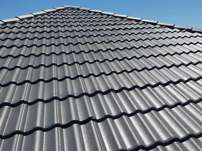High quality roof coating finish with Nutech tile flex