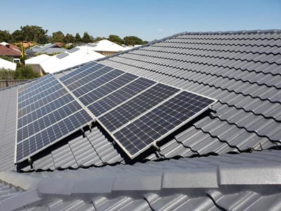 Solar panels are considered when roof restoration occurs