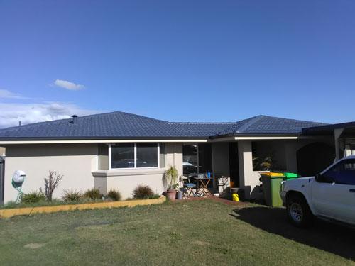 Roof Restoration in Bunbury