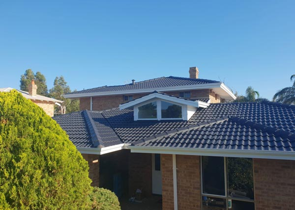 Roof Restoration in Mandurah by Kenny's Roofing.